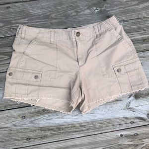 GAP Frayed Cargo Shorts